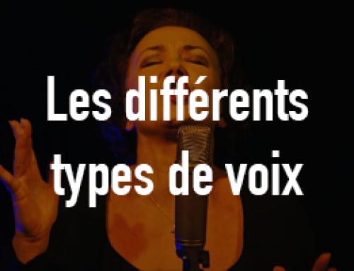 Les différents types de voix