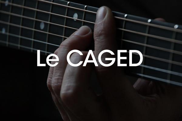 Methode pratique accords guitare débutant caged