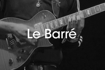 Apprendre accords barré guitare débutant