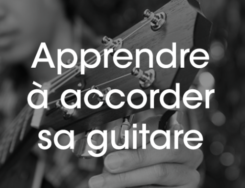 Accorder sa guitare