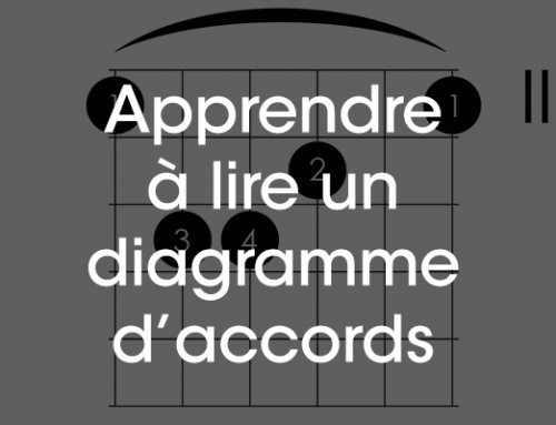 Diagramme d'accord : comment le lire ?