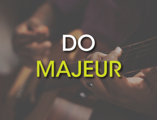 Les accords de guitare : Do Majeur ( C )