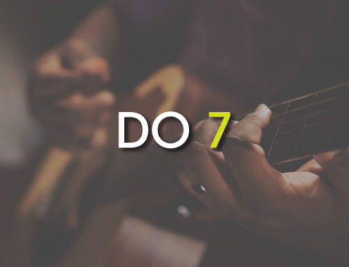 Les accords de guitare : Do 7 ( C7 )