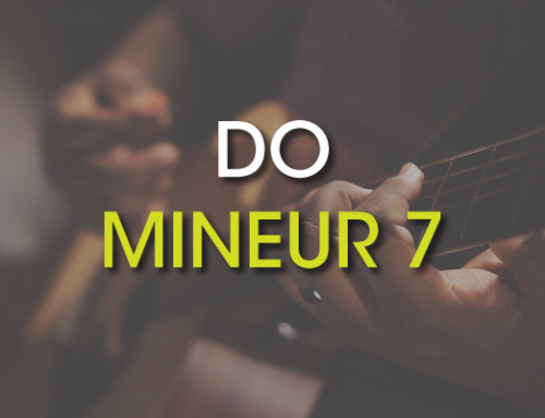 Les accords de guitare : Do Mineur 7 ( Cm7 )