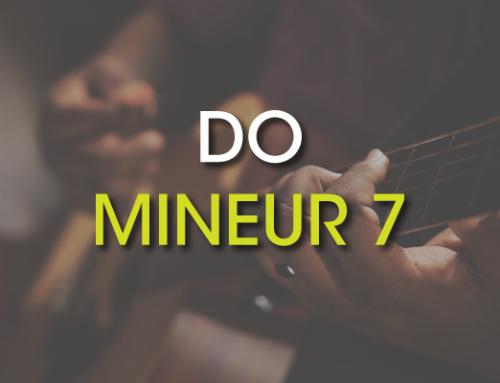 Les accords de guitare : Do Mineur 7 ( Cm7 )