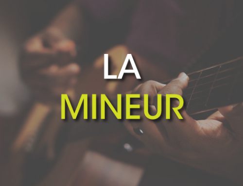 Les accords de guitare : La Mineur ( Am )