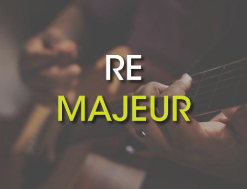 Les accords de guitare : Ré Majeur ( D )