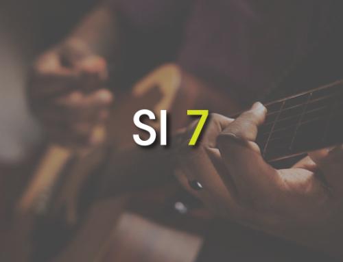 Les accords de guitare : Si 7 ( B7 )