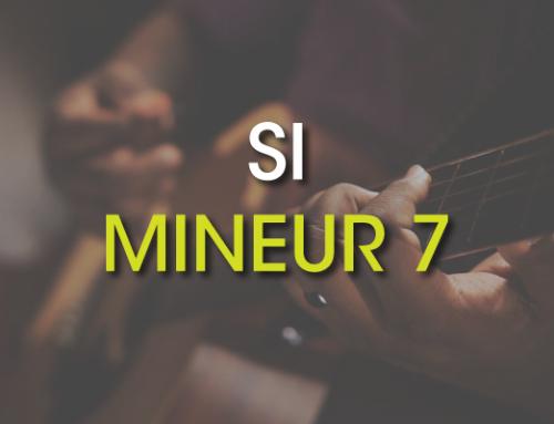 Les accords de guitare : Si Mineur 7 ( Bm7 )