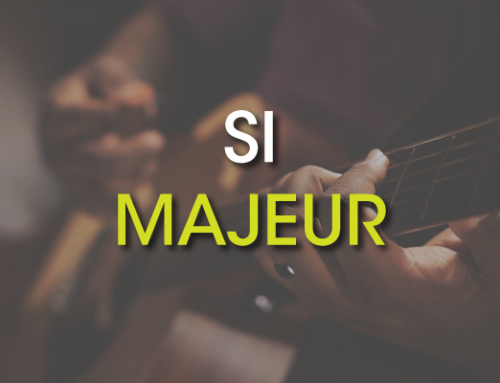 Les accords de guitare : Si Majeur ( B )