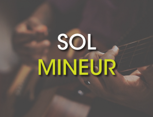 Les accords de guitare : Sol Mineur ( Gm )