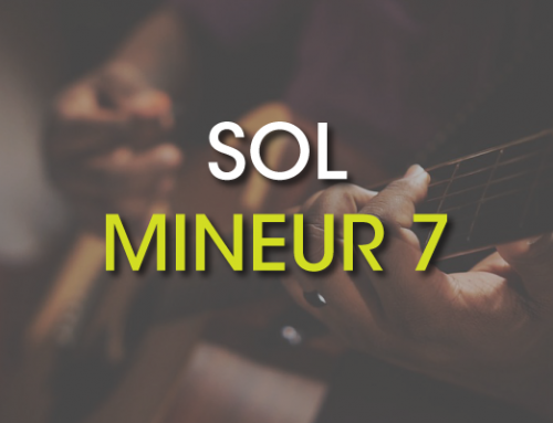 Les accords de guitare : Sol Mineur 7 ( Gm7 )
