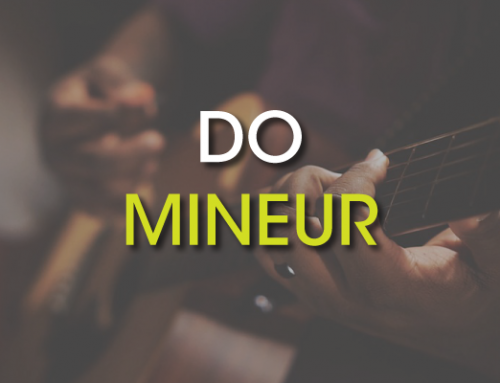 Les accords de guitare : Do Mineur ( Cm )