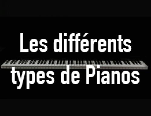 Les différents types de pianos