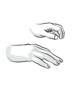 La bonne position des mains au piano